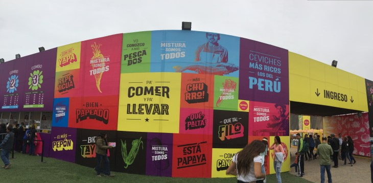 The Entrance to the Festival