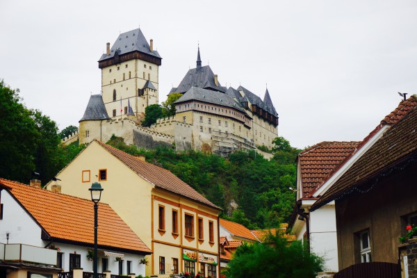 Karlstejn Castle, Prague, Czech Republic-Bjornsen- Photo