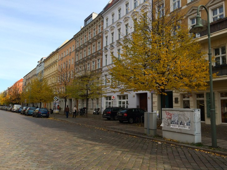 One of the many beautiful streets we stumbled upon in Prenzlauer Berg.