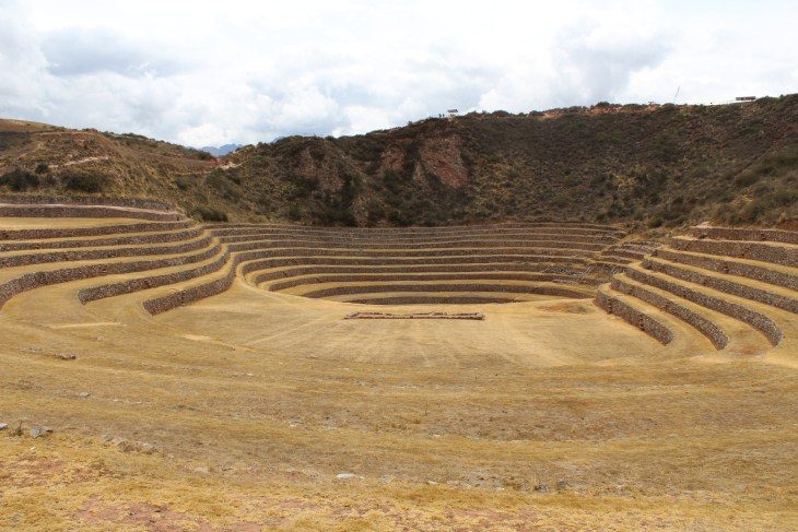 View of renovated terraces