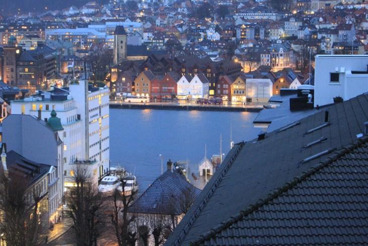 Brrygen Wharf from Karis' rooftop.