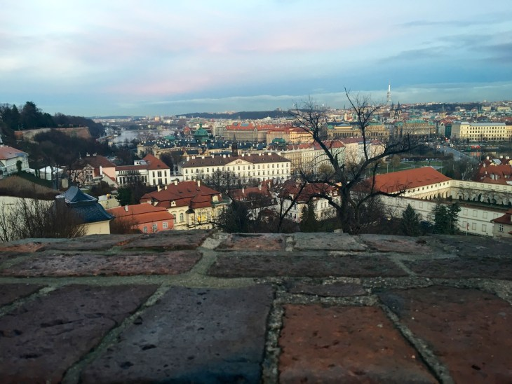 view of city, Prague, Czech Republic, Myers- 3