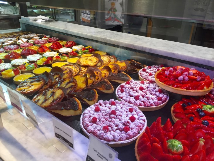 Dessert is a must. The patisseries in Paris are unavoidable. Not only do they temp you through the window, but once you try a bite, it's impossible to walk past one.