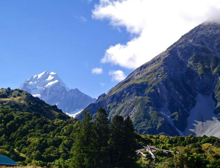 This has got to be one of my favorite views in New Zealand on the Hooker Valley Trail