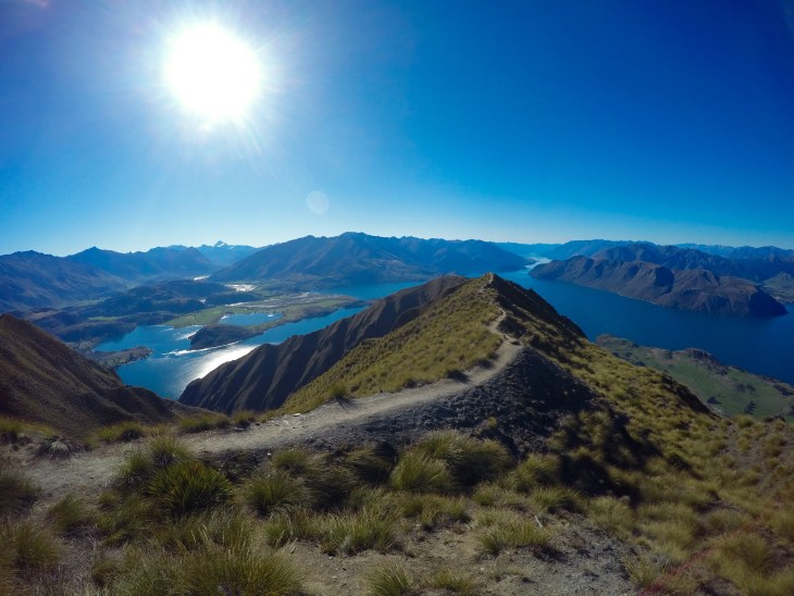 The views from Roy's Peak in Wanaka speak for themselves.