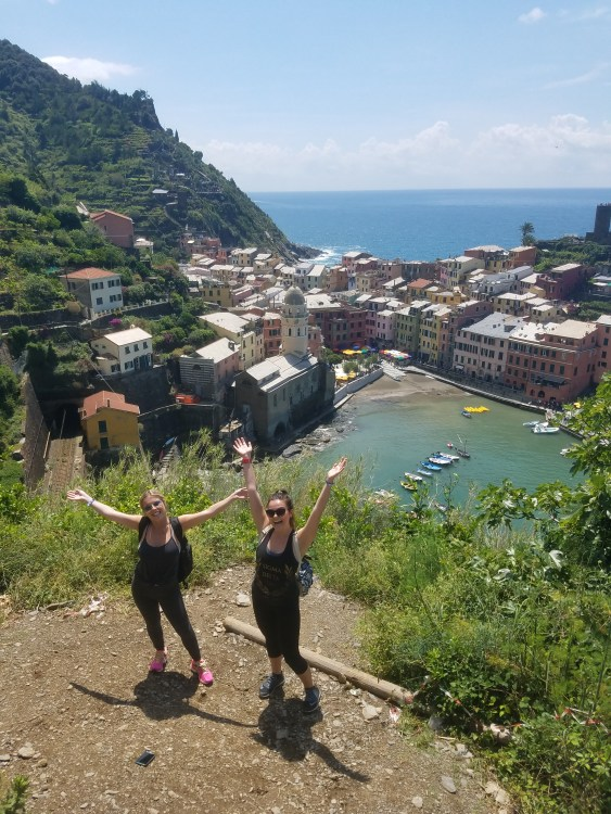 Hiking through the towns in Cinque Terre!