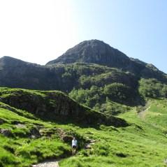 Sparkling Glen Coe on a rare, sunny Scottish day