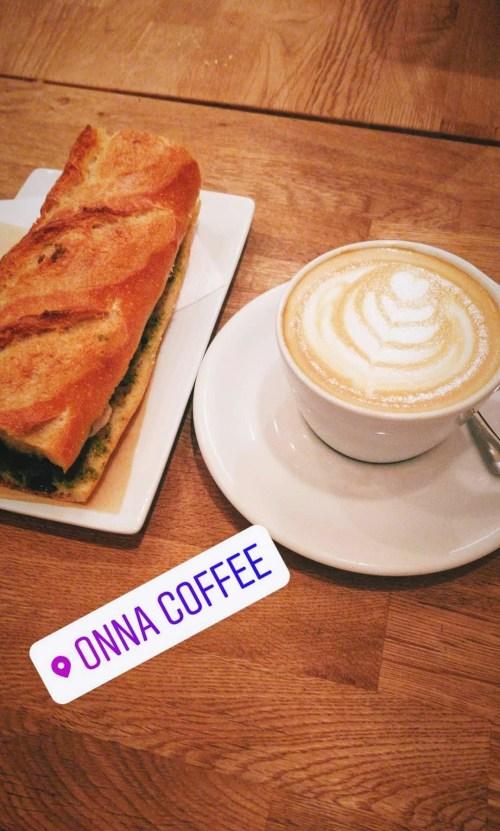 coffee at onna coffee barcelona