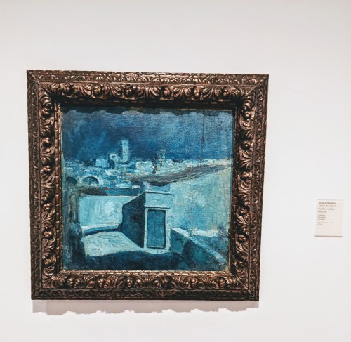 rooftops of barcelona by picasso