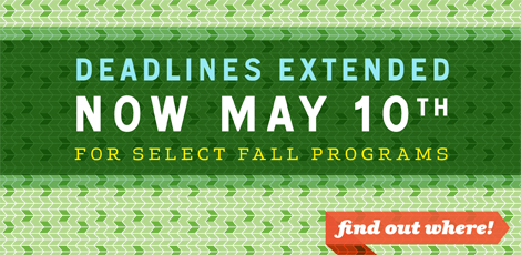 ISA fall 2012 application deadline extension
