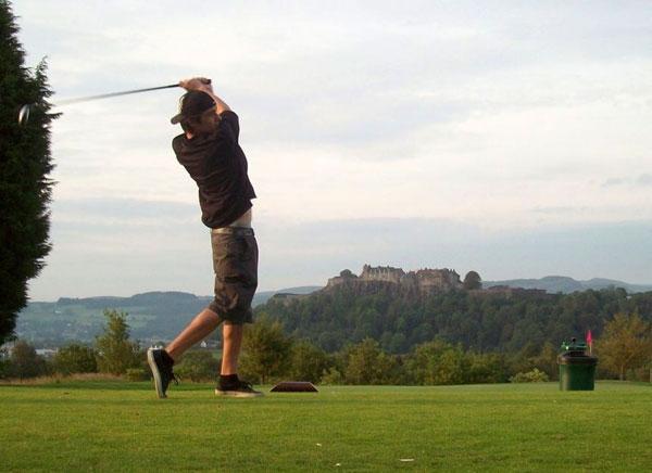 Golfing in Stirling