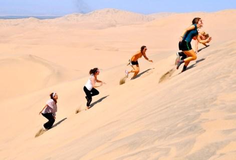La Huacachina Peru study abroad lima