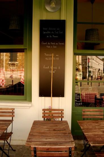 Cafe in Brussels, Belgium.