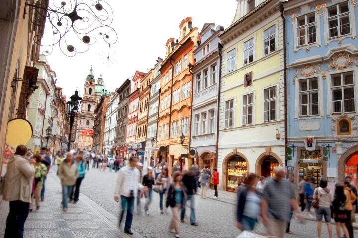 Prague streetview (shutterstock)