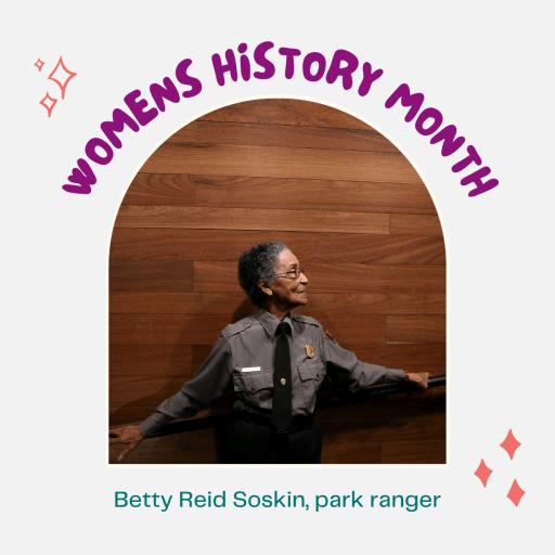 Test: Womens History Month, Betty Reid Soskin, park ranger