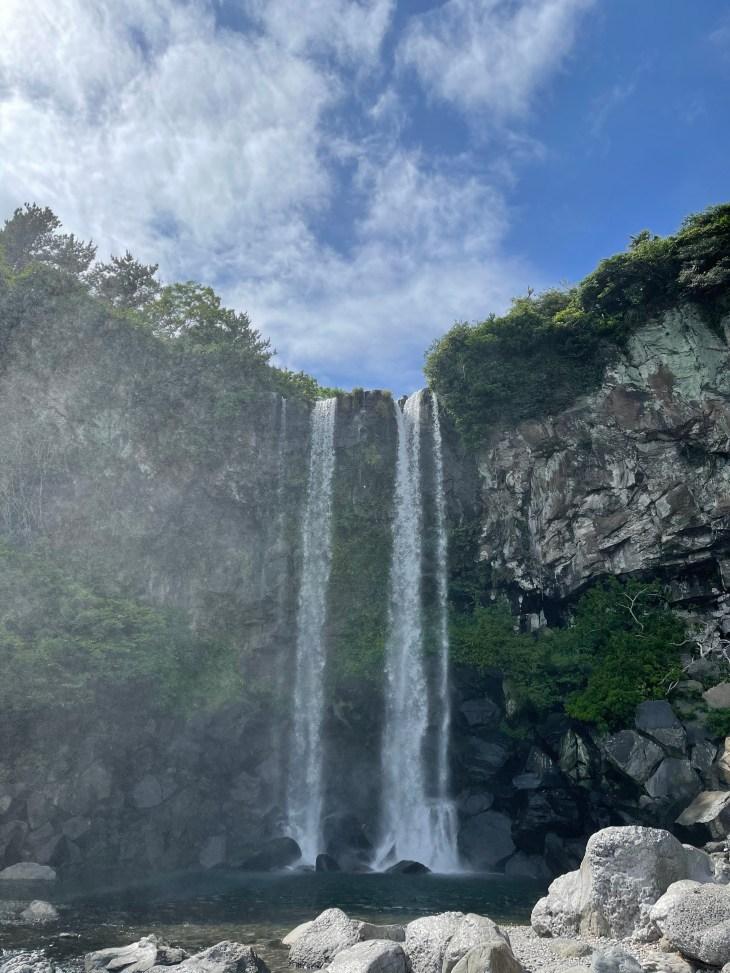 Photo of Jeongbang Waterfall