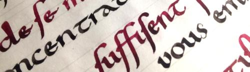 La Minuscule Caroline Calligraphie Latine Enluminure Medievale