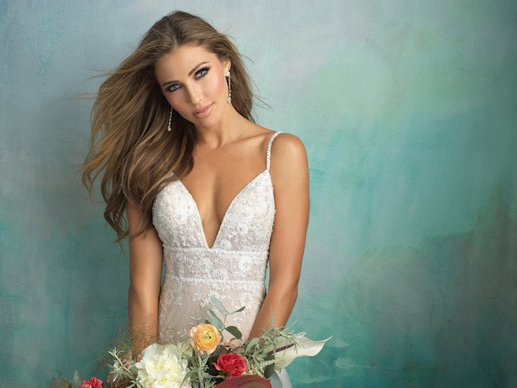 Sweet and Feminine Spaghetti Straps – Studio I Do Bridals