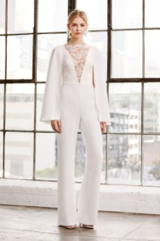 Tadashi Shoji Bridal Spring 2019 (Photo: Vogue.com)