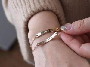 bridesmaids gift ideas 2019 studio i do personalized bracelet wedding