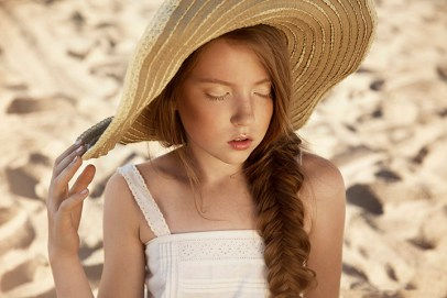 Lazy days with dreams, girl retouch, kids retouching, photo correction, summer