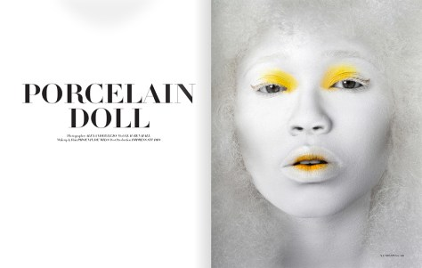 Xander magazine publication  Porcelain Doll