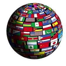 Flags around the world.