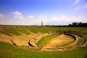 Amphitheatre in Pompeii