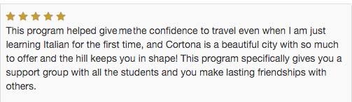 Univ of Georgia Italy Review