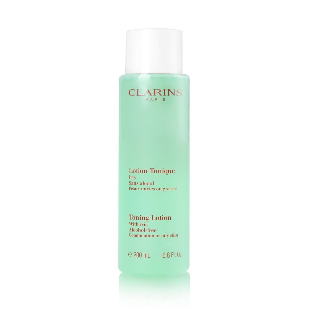 Clarins - Toning Lotion Alcohol Free with Iris for Oily to Combination Skin