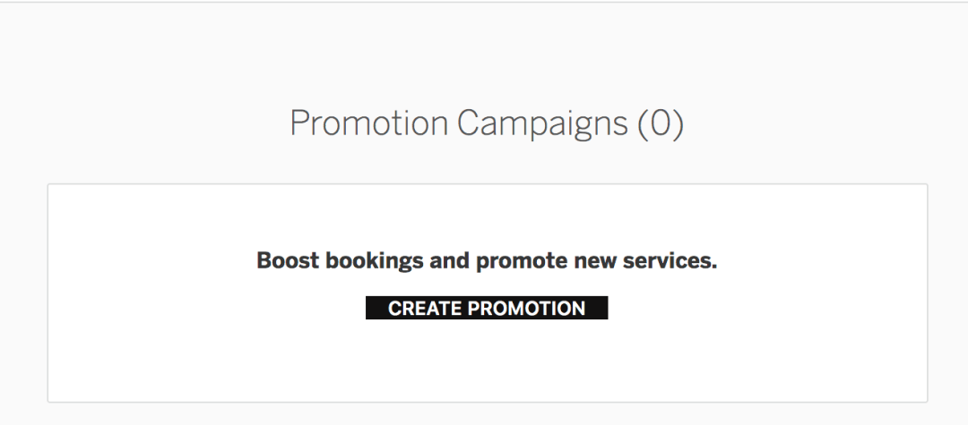 StyleSeat Promotion - Create Your Promotion