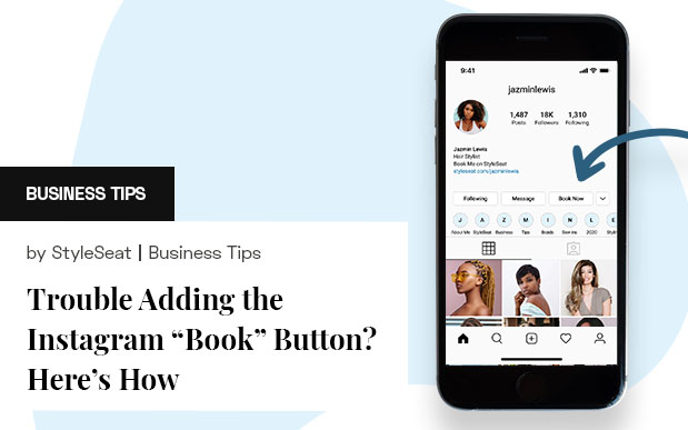 Having Trouble Adding the Instagram Book Button? Here's How