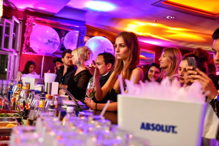 Stylight Awards 2016 - Absolut Vodka booth