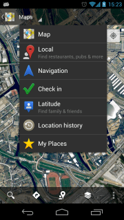 Dropdown-based Navigation