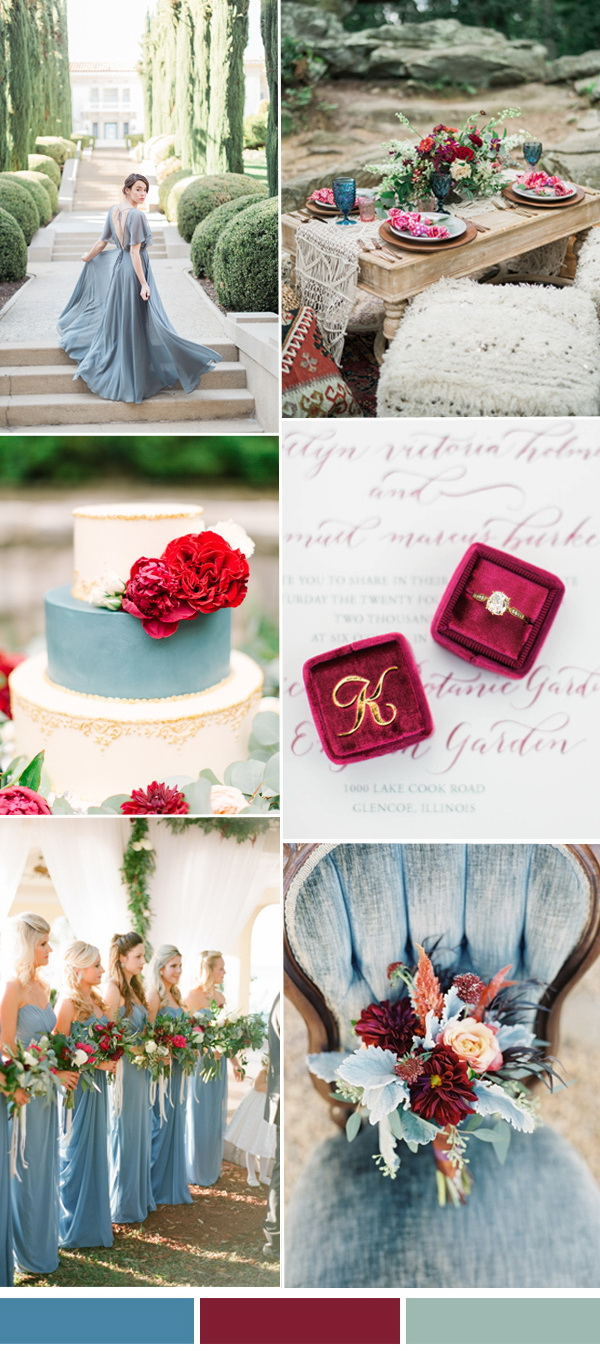 January Wedding Themes