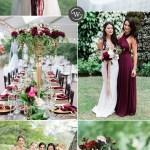 Wedding Trends 10 Fantastic Burgundy Color Combos For 2021 Stylish Wedd Blog