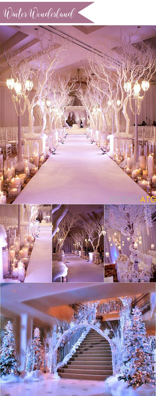 Unique Dreamy Fairytale Wedding Ideas For 2017 Trends