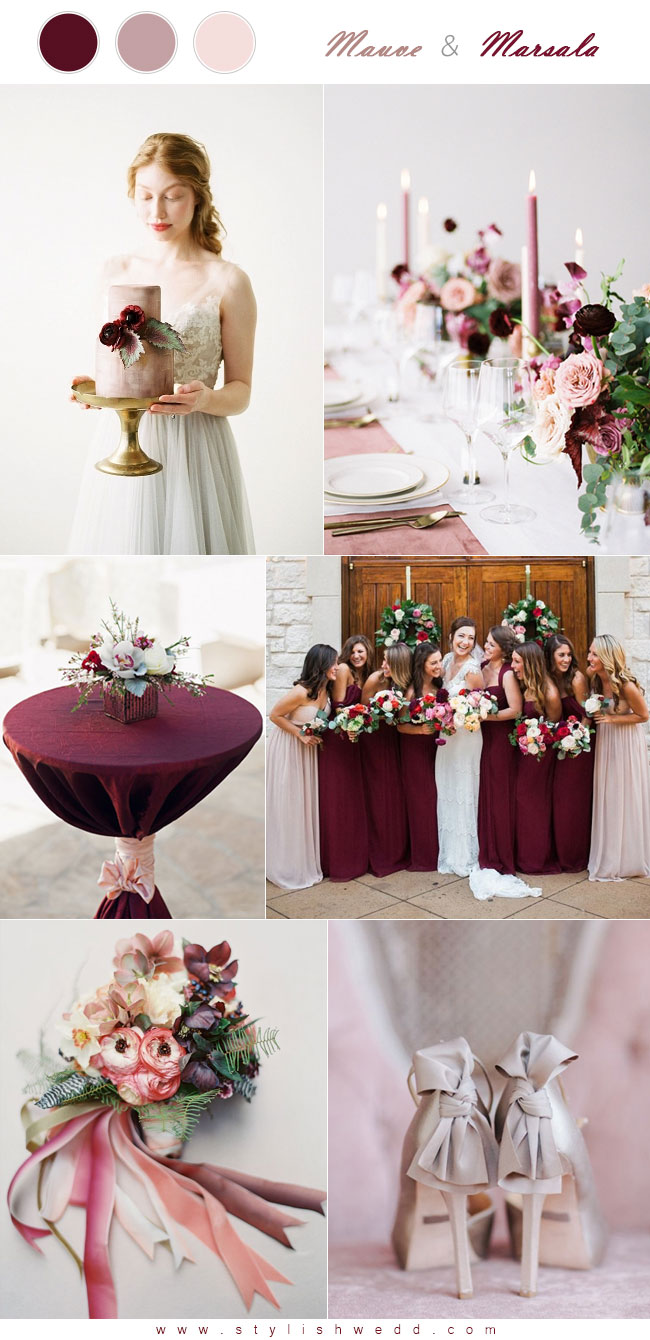 September Wedding Colors 2017