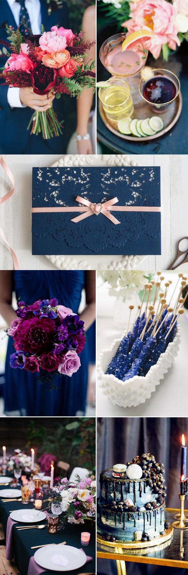 Fabulous Fall Wedding Inspiration Moody Jewel Toned