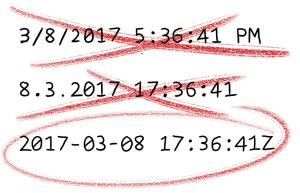 C# Datetime Stamps