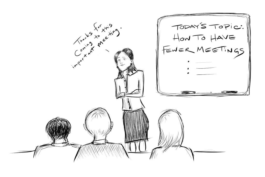 Useless meetings aren't good