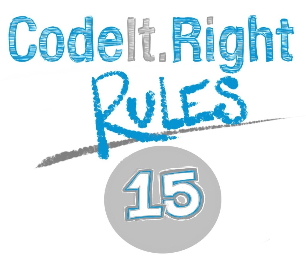CodeItRight Rules15