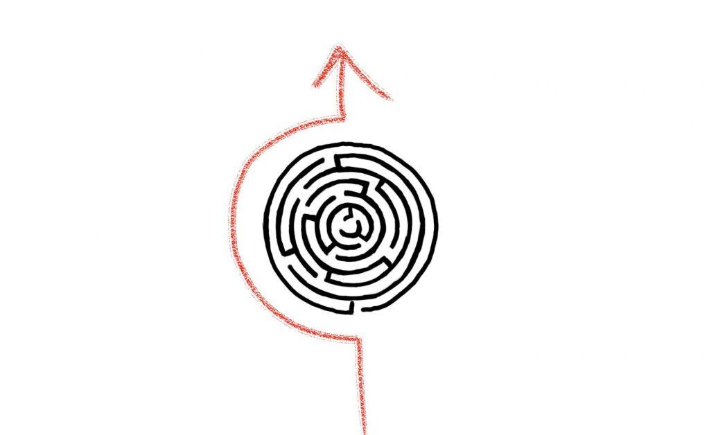 Ignoring the maze
