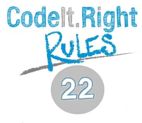 CodeItRight_Rules_22