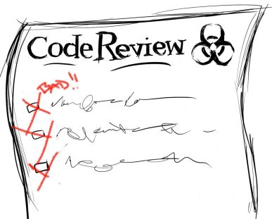 Code Review biohazard
