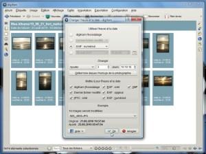 Modifier la date de prise de la photo (digiKam)