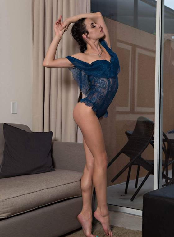Blue is the color with Hailey Stevens