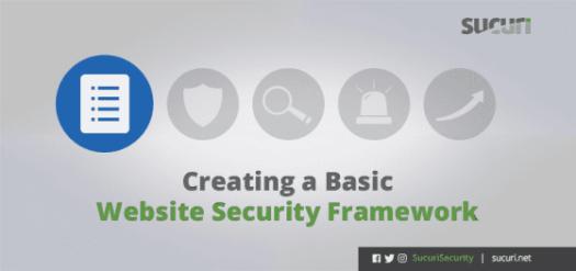 Creating a Basic Website Security Framework