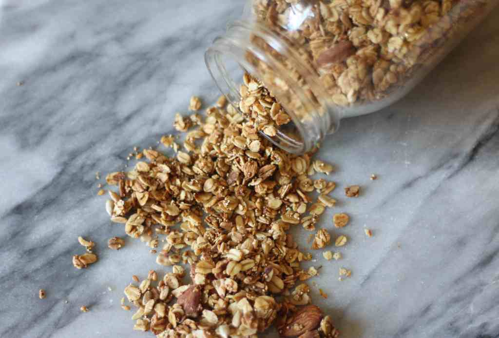 Cinnamon-Orange Flax Granola