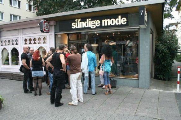 Verkaufsoffener Sonntag bei sündige mode